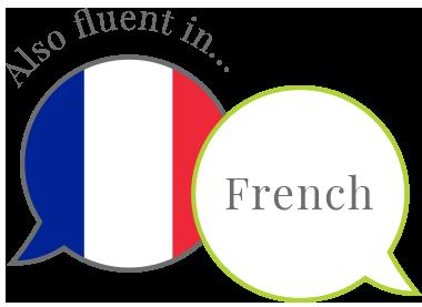 also fluent in French