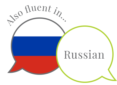 Also fluent in Russian