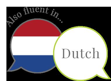 Also fluent in Dutch
